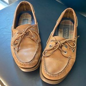 Sperry Authentic Original Boat Shoe Sahara Leather
